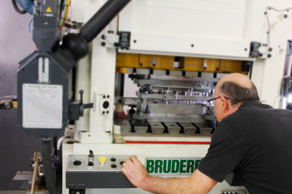 SBS Milling machines and a Bruderer stamping press