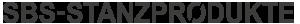SBS-Stanzprodukte Logo